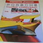 DeAGOSTINI Porsche Model Collection Magazine #38 Porsche 911 Turbo Cabrio